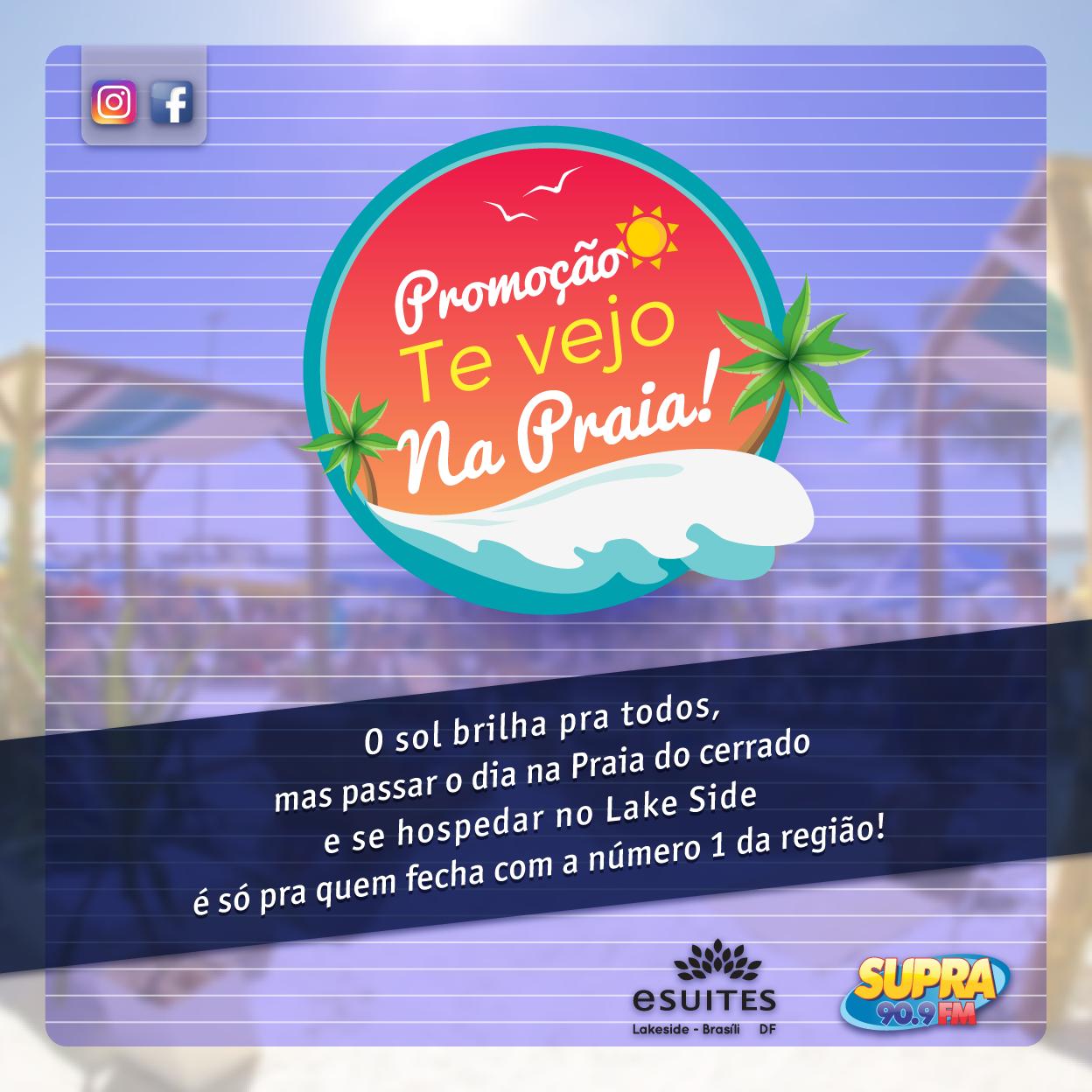 Promoção Supra FM - Na Praia